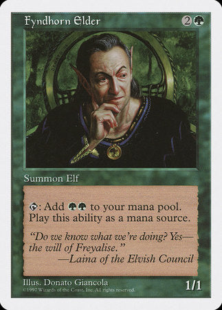 Fyndhorn Elder [Fifth Edition] | Red Dragon Gaming