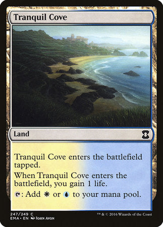 Tranquil Cove [Eternal Masters] | Red Dragon Gaming