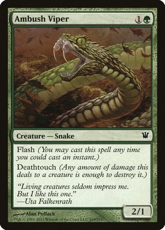 Ambush Viper [Innistrad] | Red Dragon Gaming