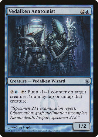 Vedalken Anatomist [Mirrodin Besieged] | Red Dragon Gaming