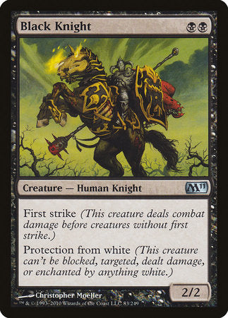 Black Knight [Magic 2011] | Red Dragon Gaming