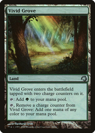 Vivid Grove [Premium Deck Series: Slivers] | Red Dragon Gaming