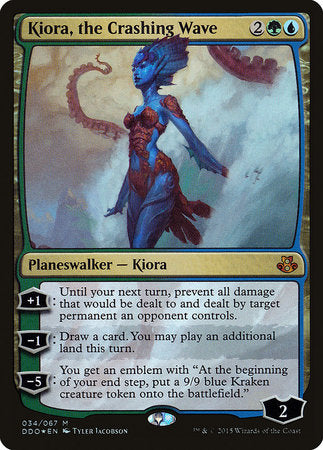 Kiora, the Crashing Wave [Duel Decks: Elspeth vs. Kiora] | Red Dragon Gaming