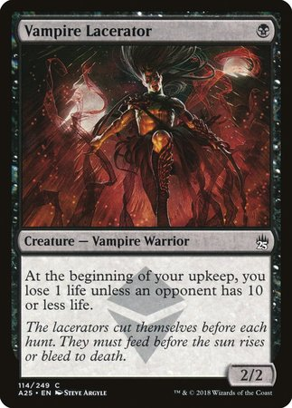 Vampire Lacerator [Masters 25] | Red Dragon Gaming