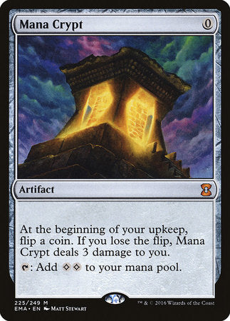 Mana Crypt [Eternal Masters] | Red Dragon Gaming