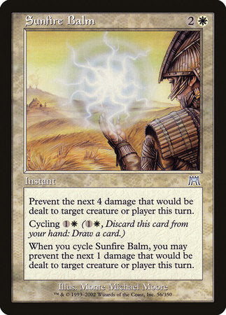Sunfire Balm [Onslaught] | Red Dragon Gaming