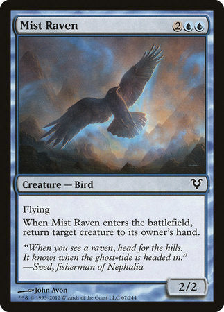 Mist Raven [Avacyn Restored] | Red Dragon Gaming