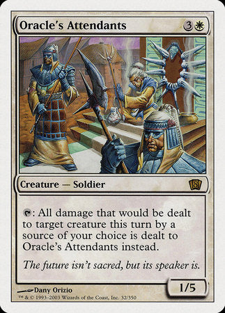 Oracle's Attendants [Eighth Edition] | Red Dragon Gaming