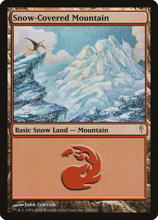 Snow-Covered Mountain [Coldsnap] | Red Dragon Gaming