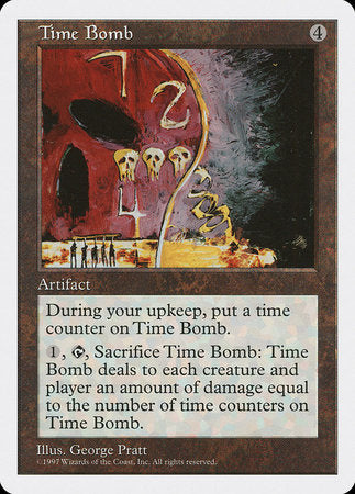 Time Bomb [Fifth Edition] | Red Dragon Gaming