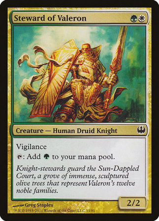 Steward of Valeron [Duel Decks: Knights vs. Dragons] | Red Dragon Gaming