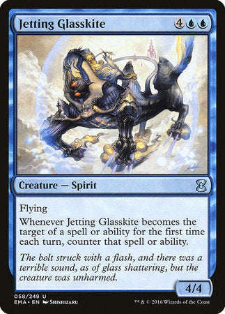Jetting Glasskite [Eternal Masters] | Red Dragon Gaming
