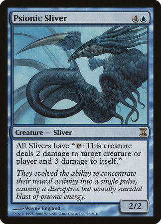 Psionic Sliver [Time Spiral] | Red Dragon Gaming