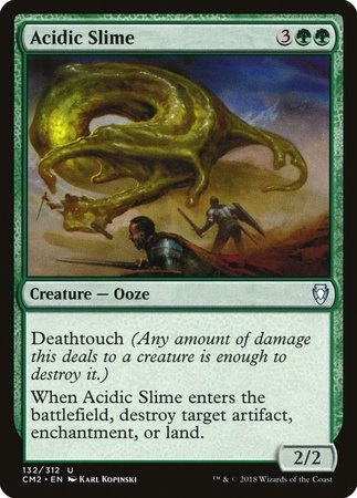 Acidic Slime [Commander Anthology Volume II] | Red Dragon Gaming