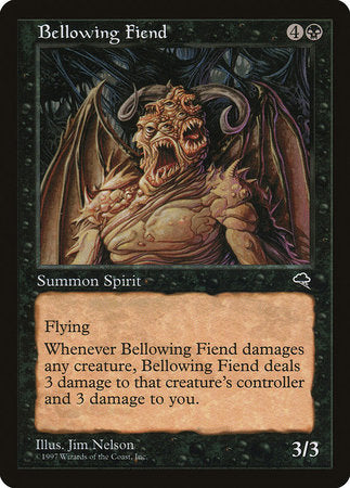 Bellowing Fiend [Tempest] | Red Dragon Gaming