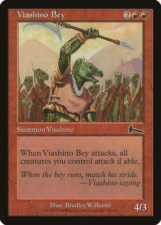 Viashino Bey [Urza's Legacy] | Red Dragon Gaming