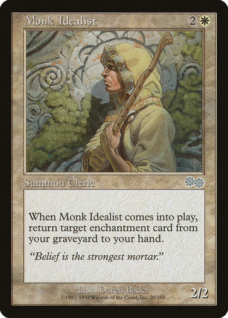 Monk Idealist [Urza's Saga] | Red Dragon Gaming