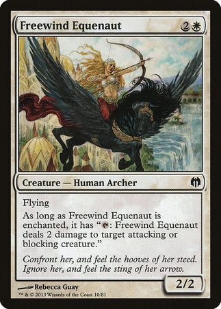 Freewind Equenaut [Duel Decks: Heroes vs. Monsters] | Red Dragon Gaming