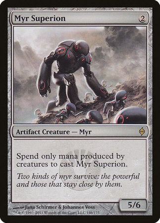 Myr Superion [New Phyrexia] | Red Dragon Gaming