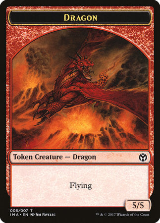 Dragon Token (006) [Iconic Masters Tokens] | Red Dragon Gaming
