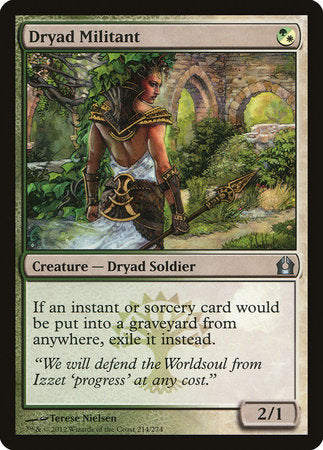 Dryad Militant [Return to Ravnica] | Red Dragon Gaming