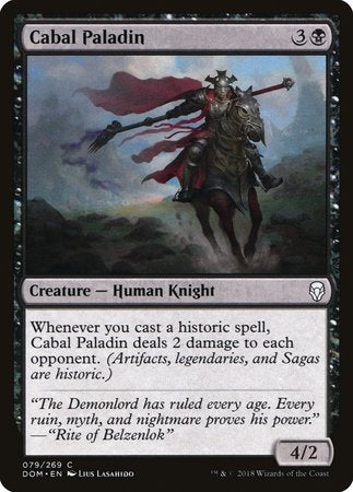 Cabal Paladin [Dominaria] | Red Dragon Gaming
