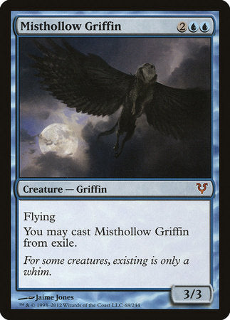 Misthollow Griffin [Avacyn Restored] | Red Dragon Gaming
