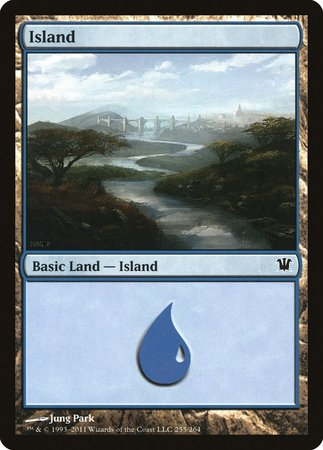 Island (255) [Innistrad] | Red Dragon Gaming