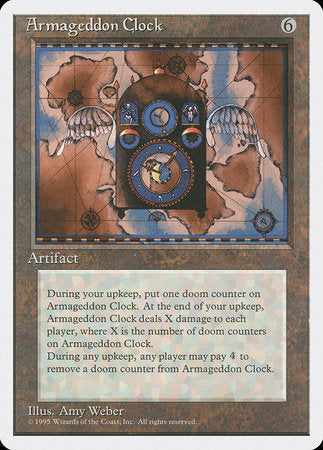 Armageddon Clock [Fourth Edition] | Red Dragon Gaming