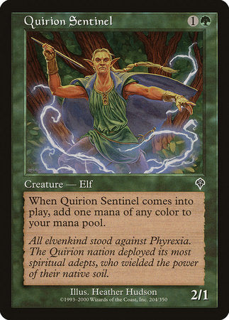 Quirion Sentinel [Invasion] | Red Dragon Gaming