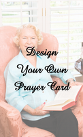 Design Your Own Prayer Card