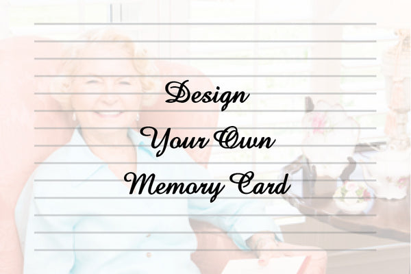 Design Your Own Memory Card