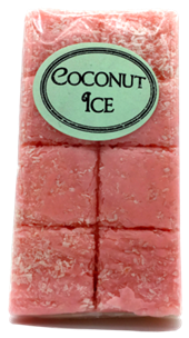 Old Fashioned Coconut Ice 8 Piece Aprox 180g