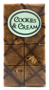 Old Fashioned Cookies & Cream Fudge 8 Piece Aprox 180g