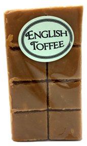 Old Fashioned English Toffee Fudge 8 Piece Aprox 180g
