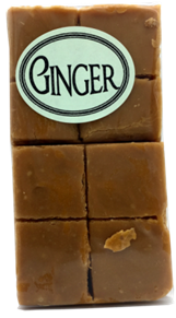 Old fashioned Ginger Fudge 8 Piece Aprox 180g