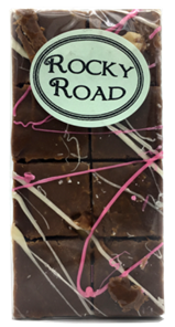 Old Fashioned Rocky Road Fudge 8 Piece Aprox 180g