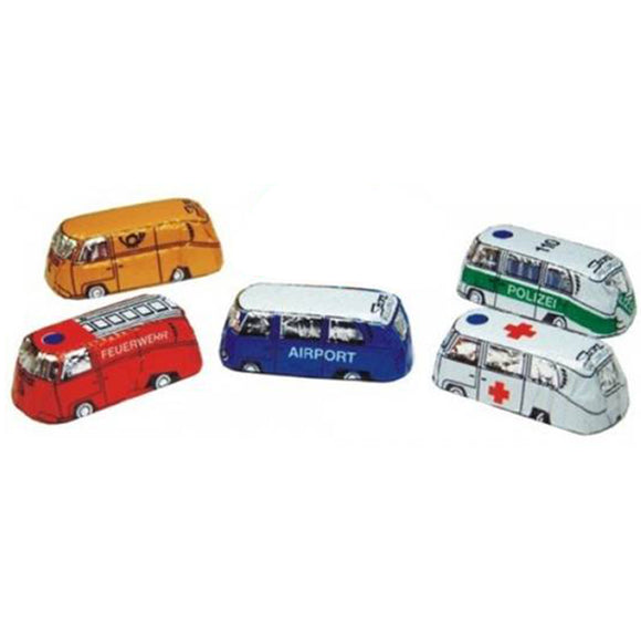 Storz Milk Chocolate Emergency Vehicles - 5 Pieces