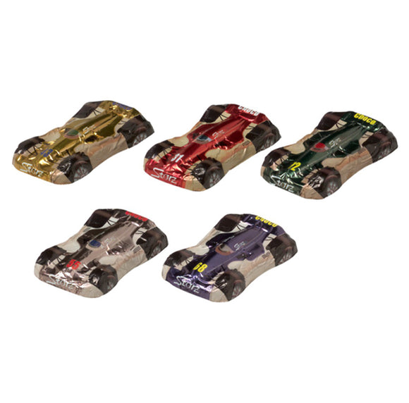 Storz Milk Chocolate Racing Cars - 5 Pieces