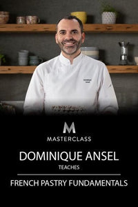 Dominique Ansel Teaches French Pastry Fundamentals