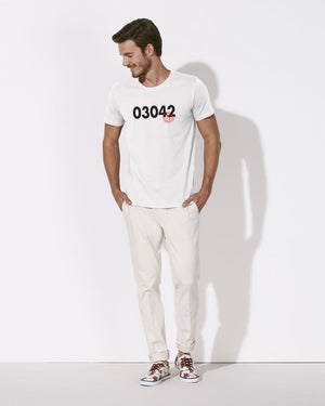 T-SHIRT MEN 03042 ATINA (WHITE)