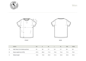 T-SHIRT MEN 10100 TORINO (WHITE)