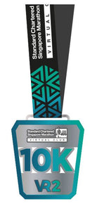 SCSM VR2 - 10km Finisher Medal