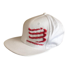 Compressport Flat Cap - White