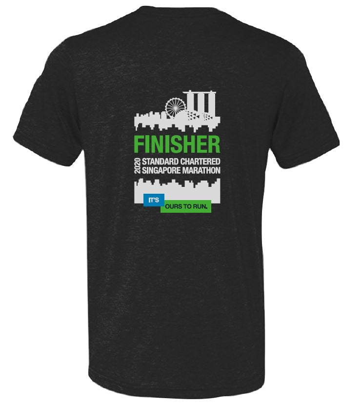 SCSM Men's Grand Finale Finisher Tee - Charcoal Black