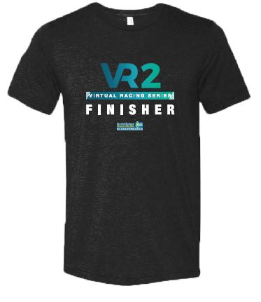 SCSM VR Men's VR2 Graphic Tee - Charcoal Black