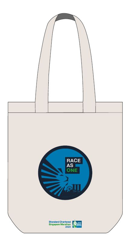SCSM Canvas Tote Bag - White
