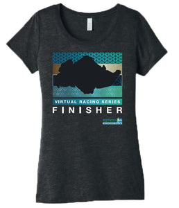 SCSM Women's Singapore Map Finisher Tee