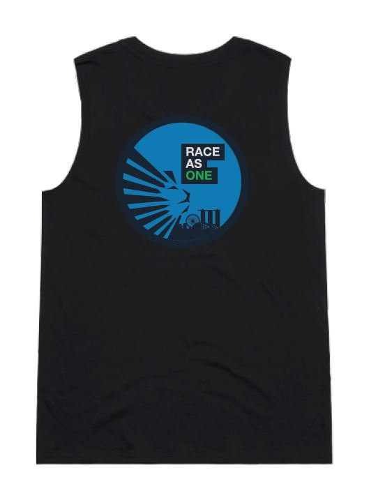 SCSM Women's Race as One Tank-  Black