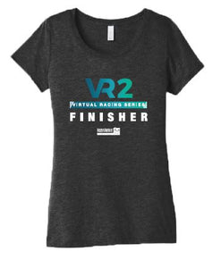 SCSM Women's VR2 Graphic Tee - Charcoal Black